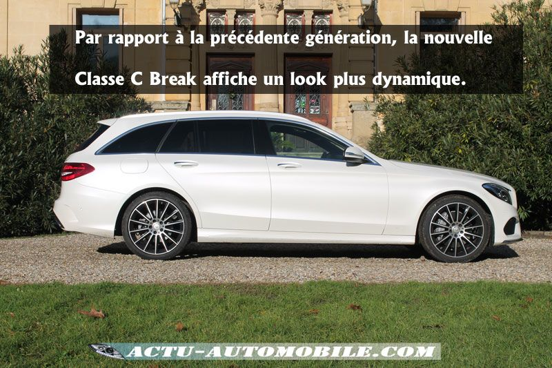 essai nouvelle mercedes classe  break  bluetec