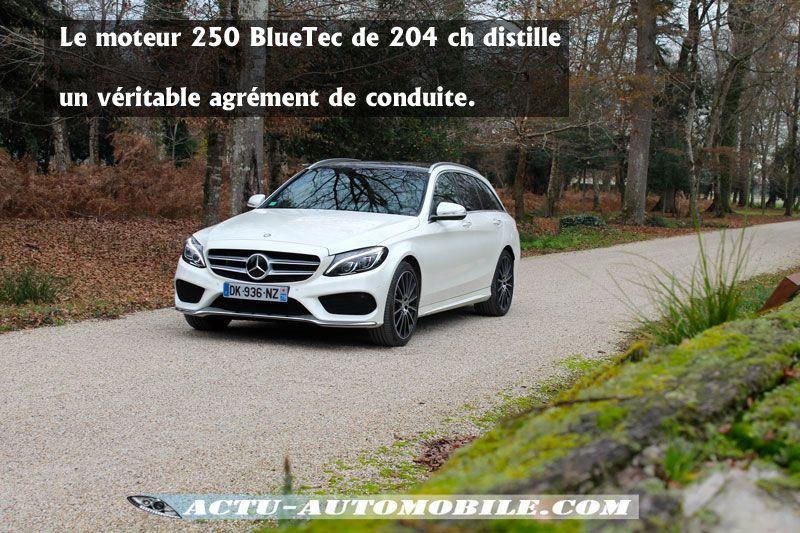 Motorisation 250BlueTec Mercedes Classe C