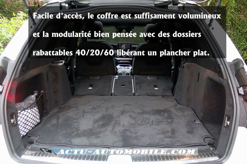 Coffre Mercedes Classe C Break