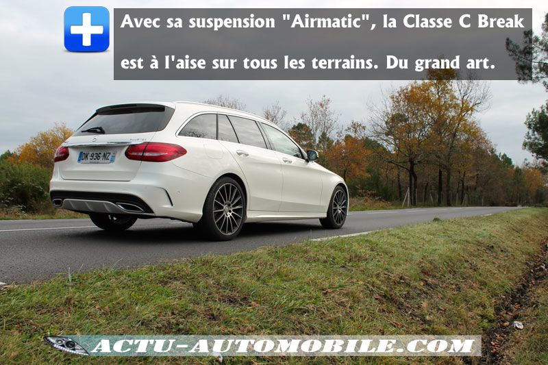 essai nouvelle mercedes classe c break 250 bluetec actu automobile. Black Bedroom Furniture Sets. Home Design Ideas