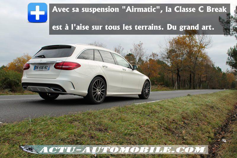Suspension Airmatic Mercedes Classe C
