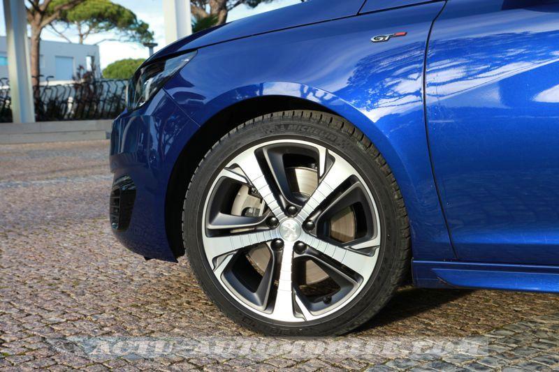 Jante alliage Diamant Peugeot 308 GT