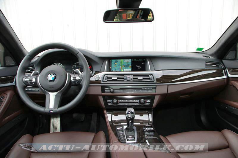 Tableau de bord BMW M550d Touring