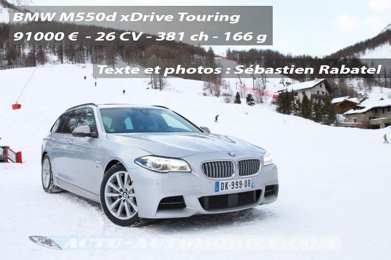 Essai BMW M550d xDrive Touring