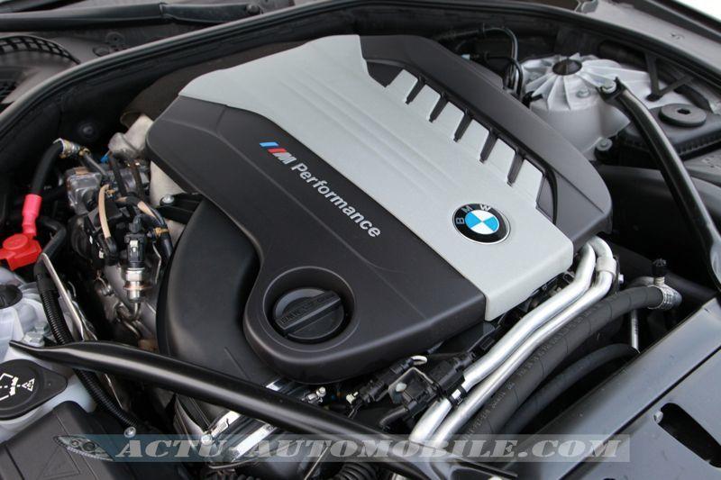 Moteur de la BMW M550d