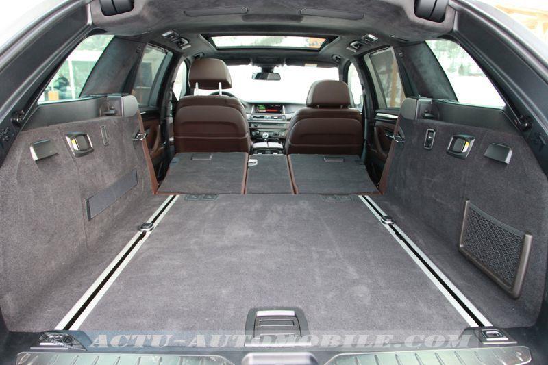 Coffre BMW M550d Touring