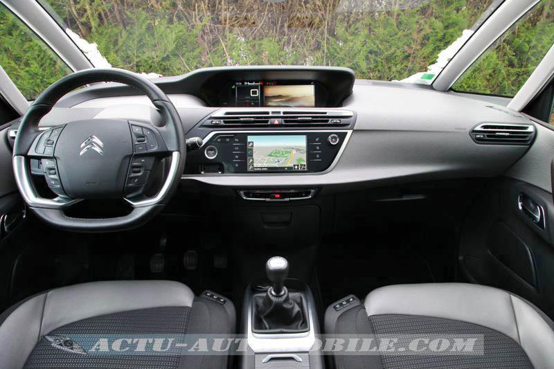 Planche de bord Citroën C4 Picasso Exclusive