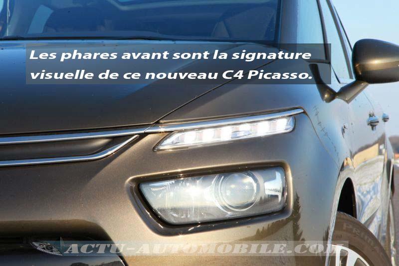 Phare avant Citroën C4 Picasso BlueHDI 150