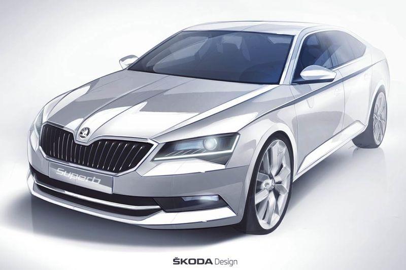 Skoda Superb 2015