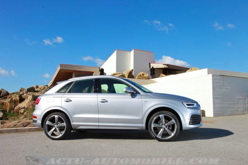 essai audi q3 restyl 2 0 tdi 184 s line quattro s tronic actu automobile. Black Bedroom Furniture Sets. Home Design Ideas