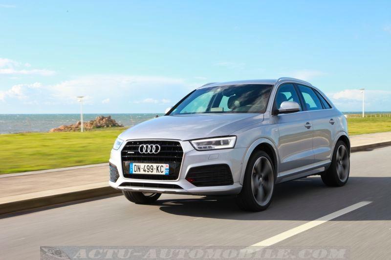 Audi Q3 restylé