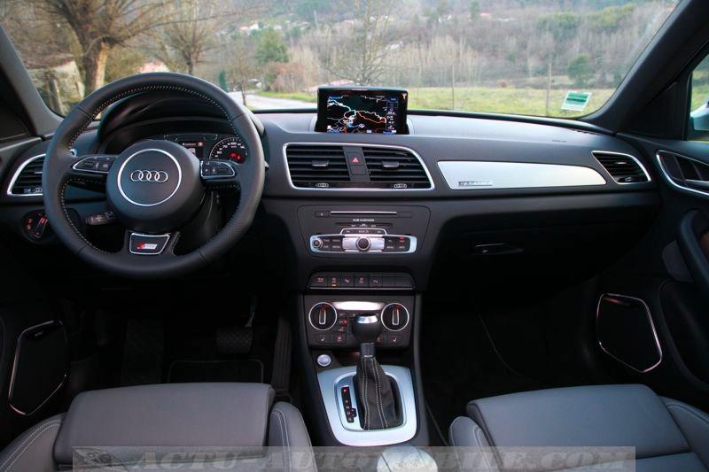 Planche de bord Audi Q3 restylé