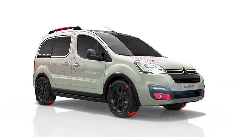Citroën Berlingo Moutain Vibe Concept