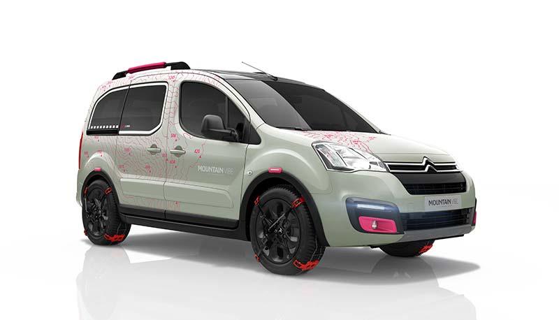 Citroën Berlingo Moutain Vibe Concept