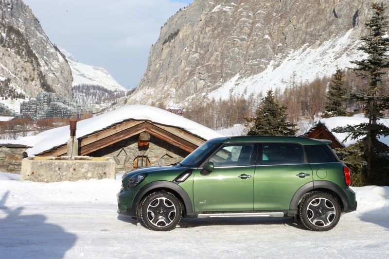 Mini Countryman Cooper S Jungle Greeen