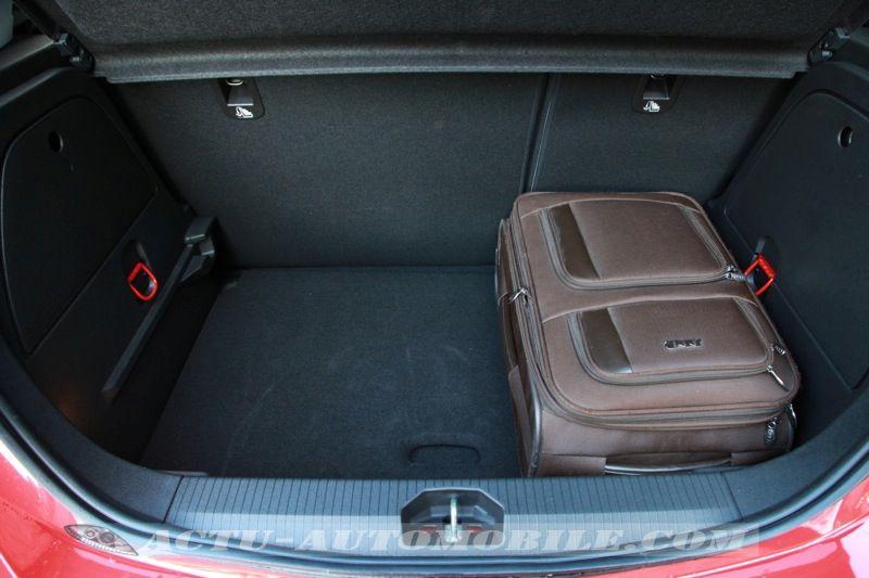Coffre nouvelle Opel Corsa