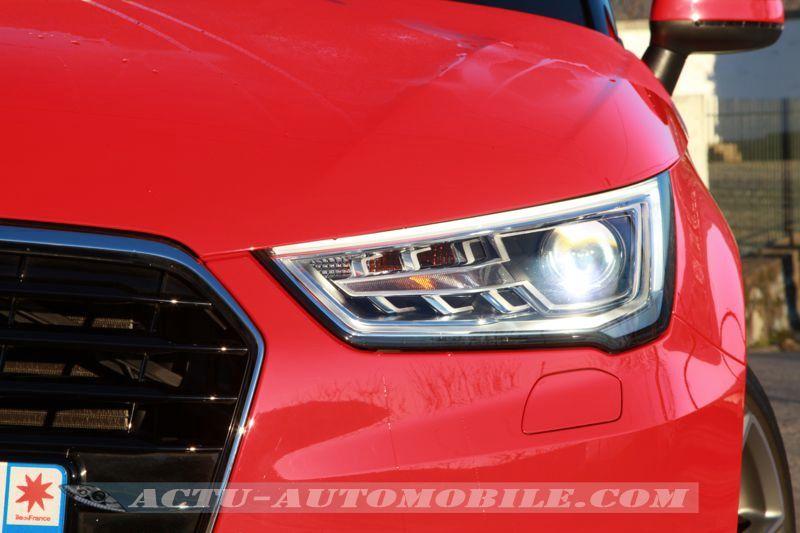 Phare avant Audi A1 restylée