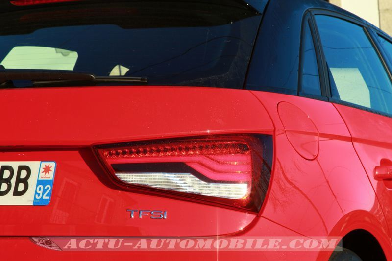 Feu arrière Audi A1 restylée