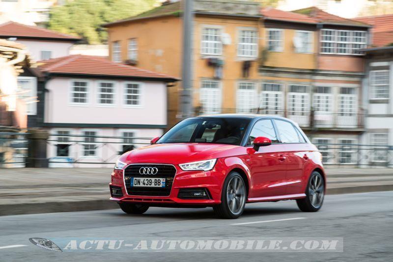 Audi A1 restylée S Line