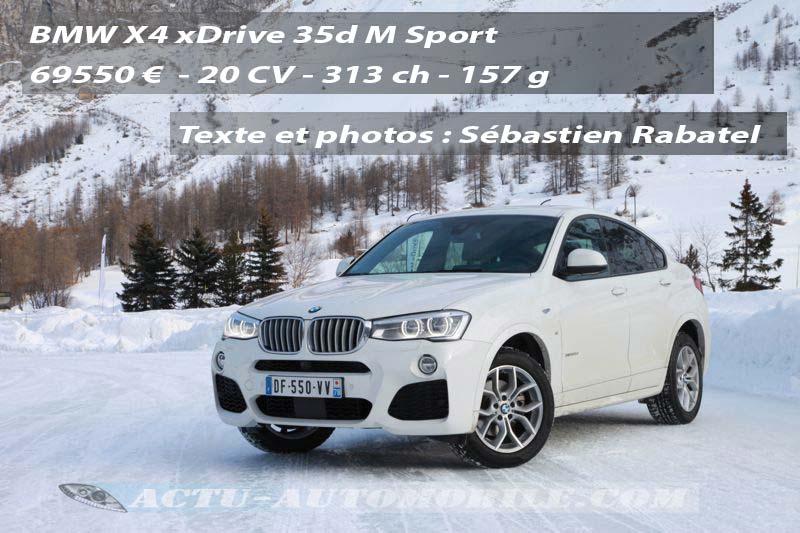 BMW X4 xDrive 35d M Sport