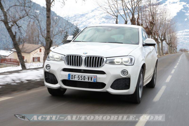 Essai BMW X4 xDrive 35d