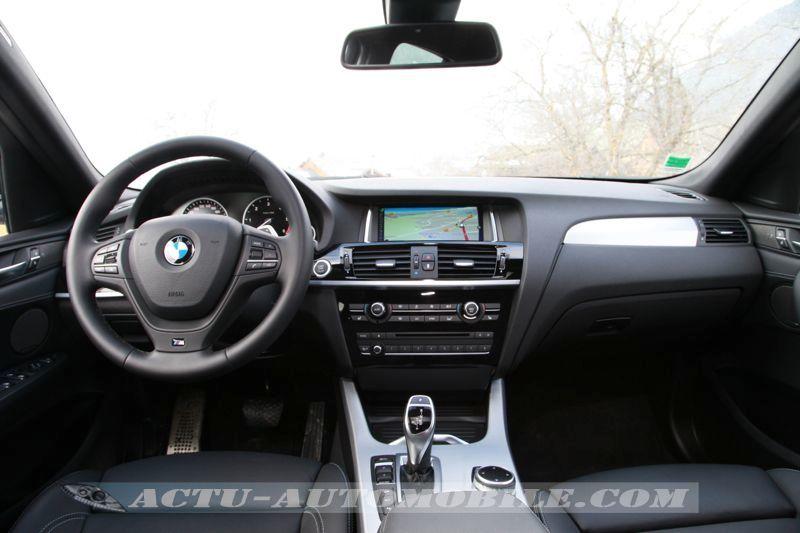 Planche de bord BMW X4