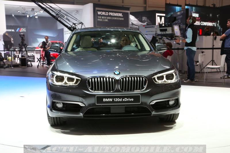 BMW Série 1 facelift