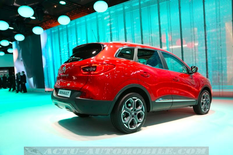 Renault Kadjar au Salon de Genève 2015