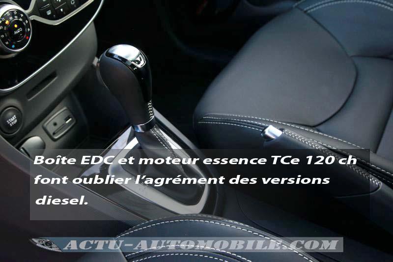 Levier de boîte EDC Renault Clio Initiale