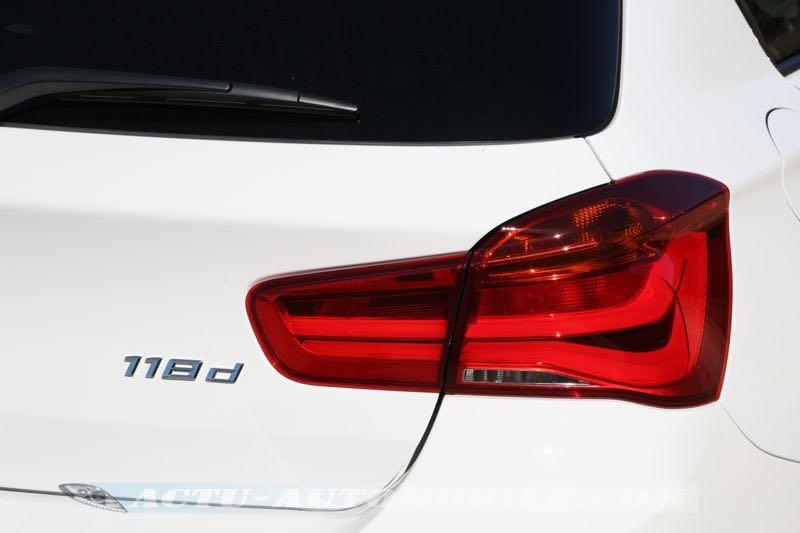 Feu arrière BMW Série 1 restylée