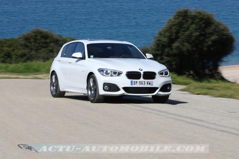 Essai nouvelle BMW Série 1