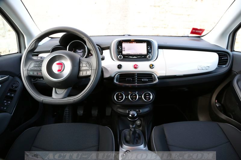 Tableau de bord Fiat 500X Popstar
