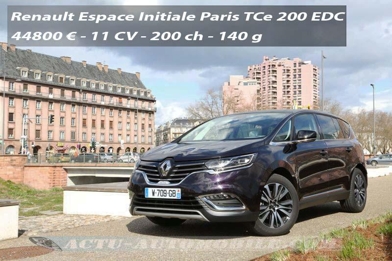 Essai nouveau Renault Espace