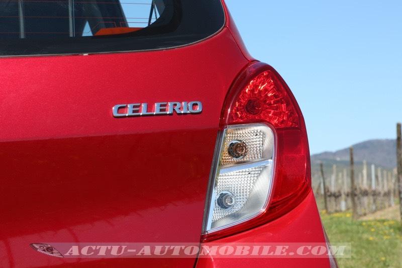Feu arrière nouvelle Suzuki Celerio