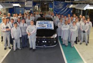 500.000 ème Citroën C3 produite à Poissy
