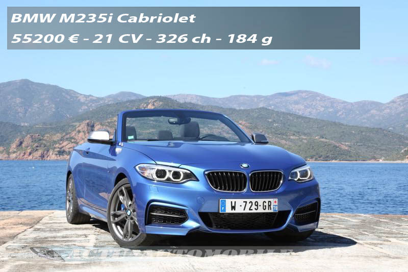 Essai BMW M235i Cabriolet