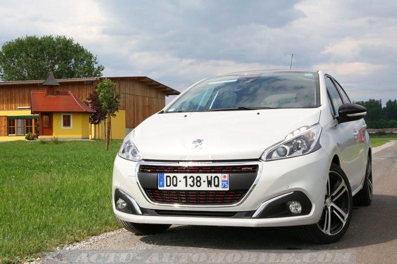 Peugeot 208 restylée