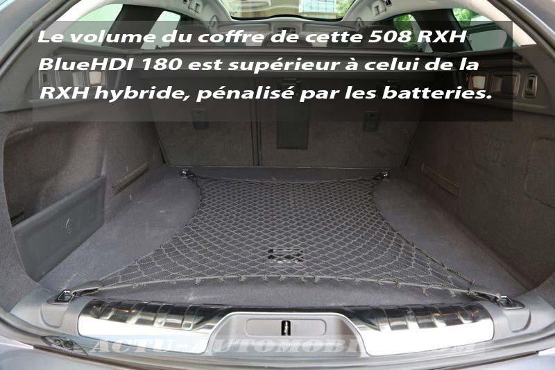 Coffre Peugeot 508 RXH