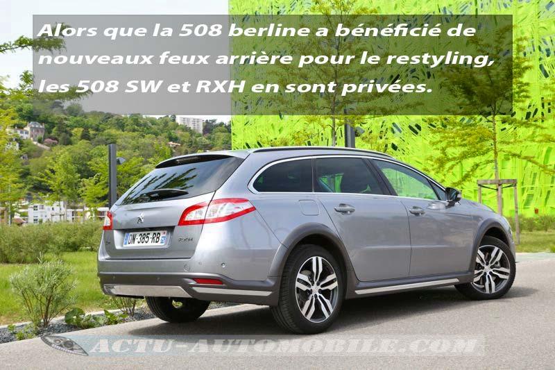 Peugeot 508 RXH restylée