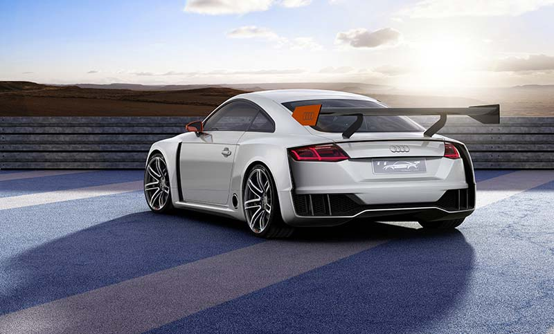 Concept Audi TT Clubsport Turbo