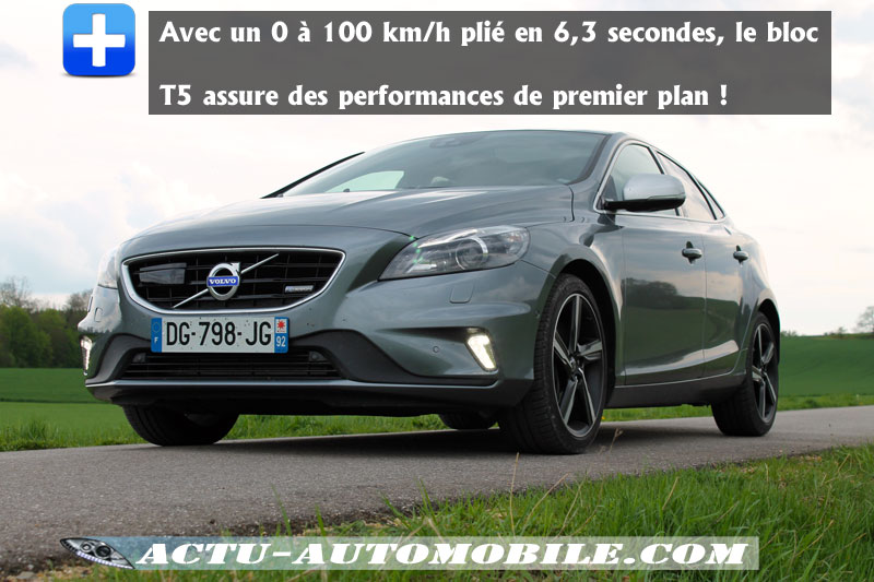 Performances V40 T5