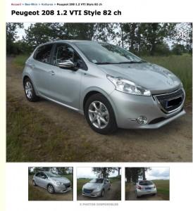 Acheter une Peugeot 208 Style en occasion