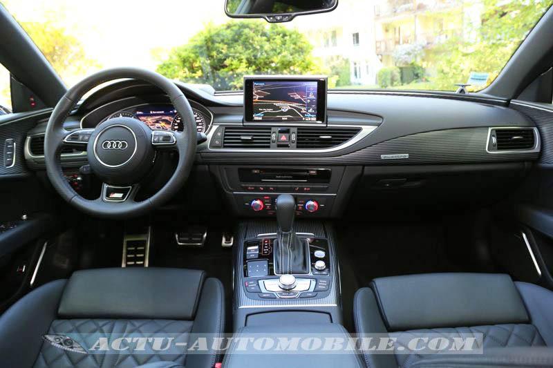 Planche de bord Audi A7 Sportback restylée