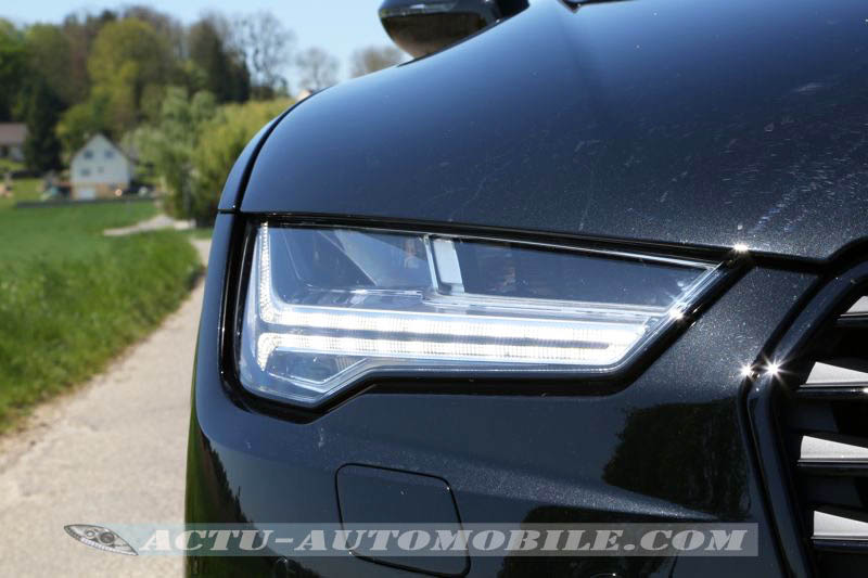 Phare Audi Matrix LED sur A7