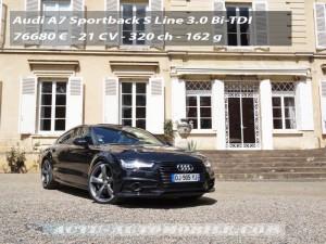Essai Audi A7 Sportback