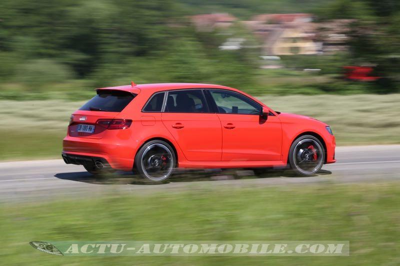 Nouvelle Audi RS3 Sportback