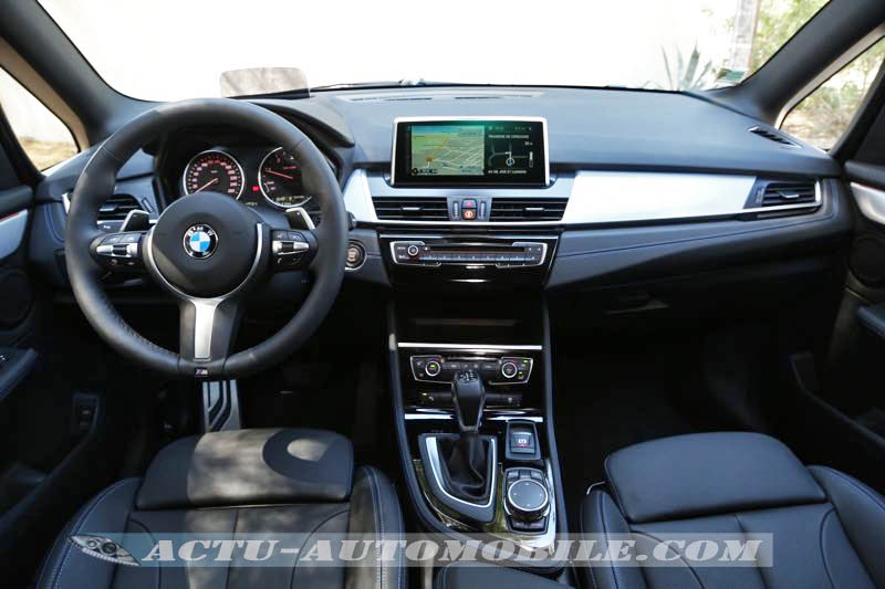 Planche de bord BMW Série 2 Gran Tourer