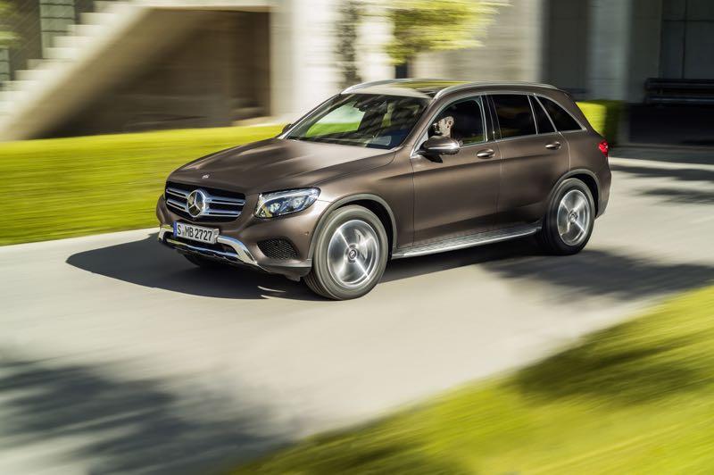 Nouveau Mercedes GLC