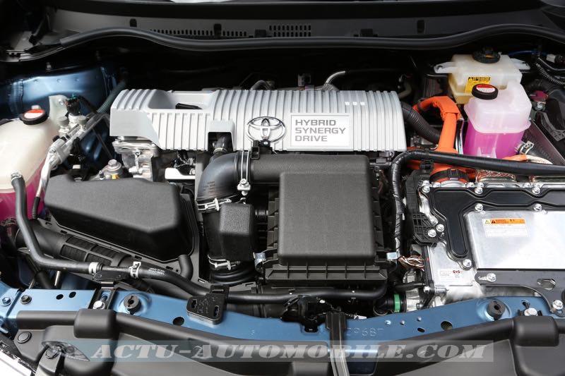Motorisation Toyota Auris hybride