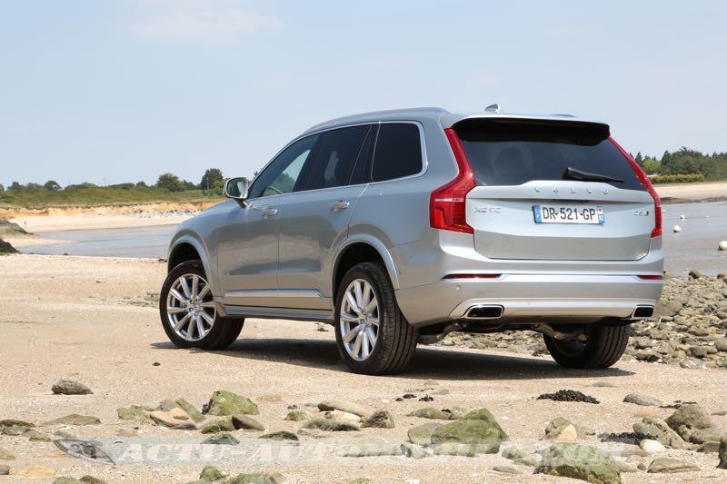Arrière nouveau Volvo XC90